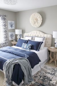 New Bedroom Updates - Juju Hat Wall Decor, Duvet Cover and ...