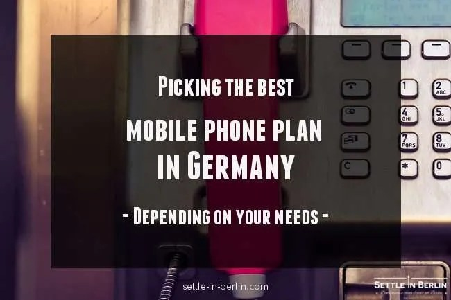mobile phone germany a quick and easy guide. Black Bedroom Furniture Sets. Home Design Ideas