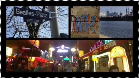 Reeperbahn, a philharmonie and the Beatles, those all belong on the same postcard.