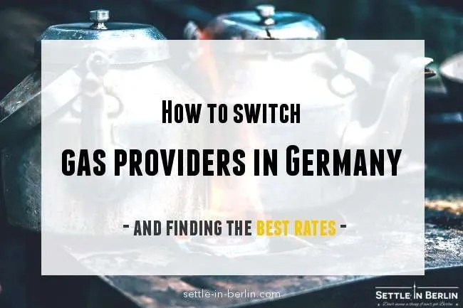 switch gas providers in germany