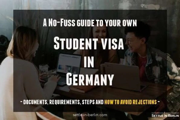 A no-fuss guide to apply for student visa in Germany