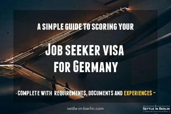 Germany job seeker visa application