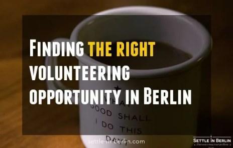 volunteer Berlin