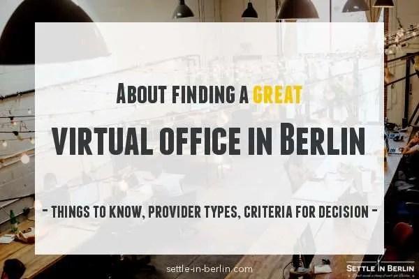 virtual office in berlin