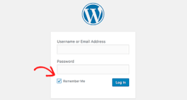 login to wordpress 1