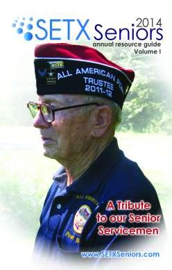 SETX Seniors Magazine George T. Sanner WWII Era Veteran Hardin County Tx_Page_01