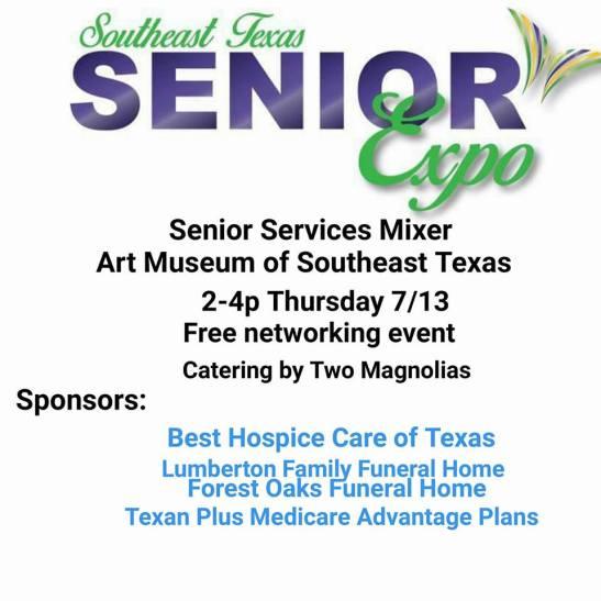 marketing Southeast Texas, senior advertising Beaumont TX, senior marketing Beaumont TX, senior events Beaumont TX, senior event Southeast Texas