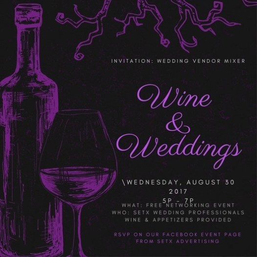 networking event Beaumont TX, Wine & Weddings Beaumont, Wine & Weddings Wednesday Port Arthur, networking event Port Arthur TX, networking event Mid County, networking Groves TX