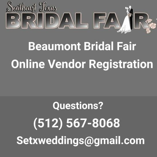 bridal fair Beaumont, bridal fair Southeast Texas, SETX Bridal Fair, vendor Beaumont bridal fair, vendor houston bridal fair, vendor Beaumont bridal extravaganza, vendor bridal traditions Beaumont