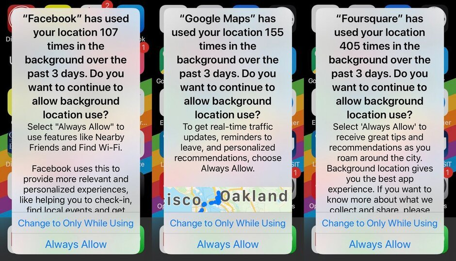 These popup notifications are scaring some iPhone users into disabling location tracking - New iOS 13 feature has led tens of millions of iPhone users to disable this setting