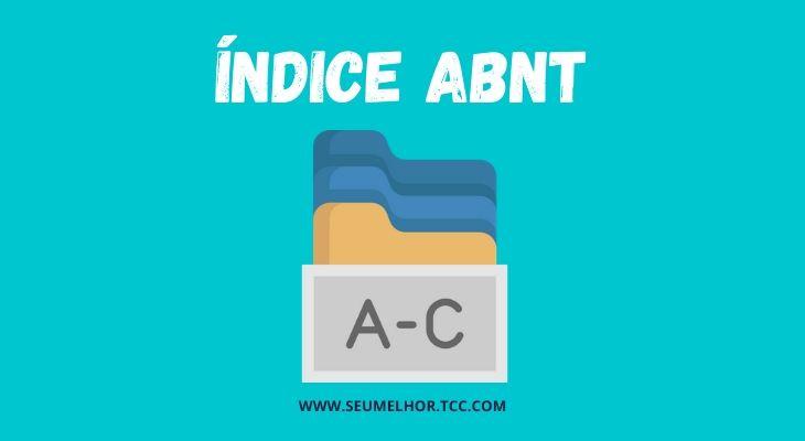 índice ABNT
