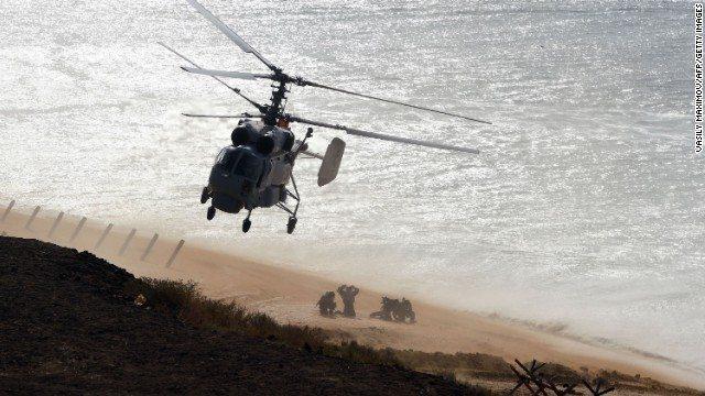 Rusia muestra su poderío militar en Crimea