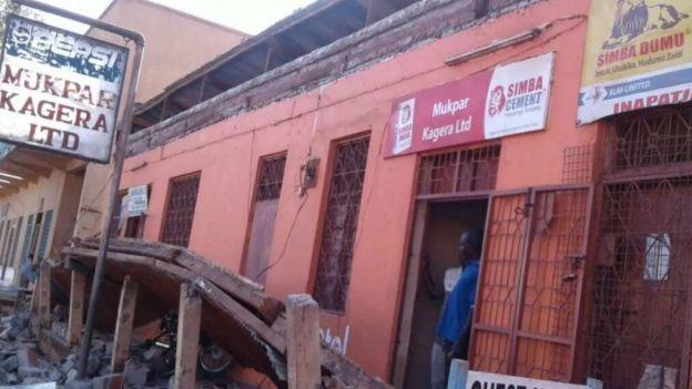 14 muertos y más de 200 heridos  por sismo de 5.7 grados en Tanzania