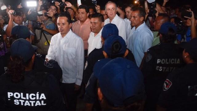 Joaquín González releva a los mandos de seguridad en Quintana Roo