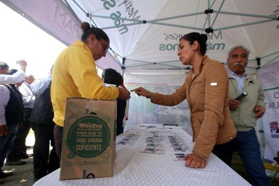 """""""Feria de dádivas"""" en Estado de México"""