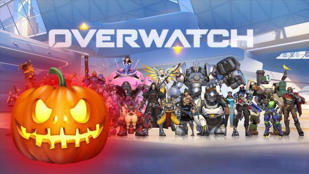 El juego 'Overwatch' listo para festejar Halloween