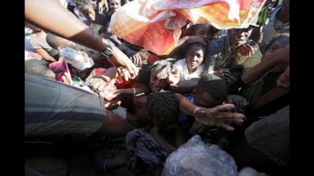 Haití, al borde de la mayor catástrofe actual en América