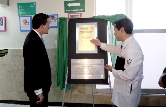 IMSS inaugura primer banco de leche materna