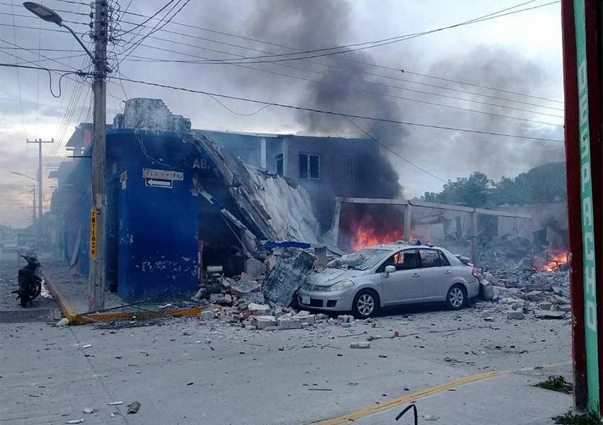 Explota una casa en Tabasco