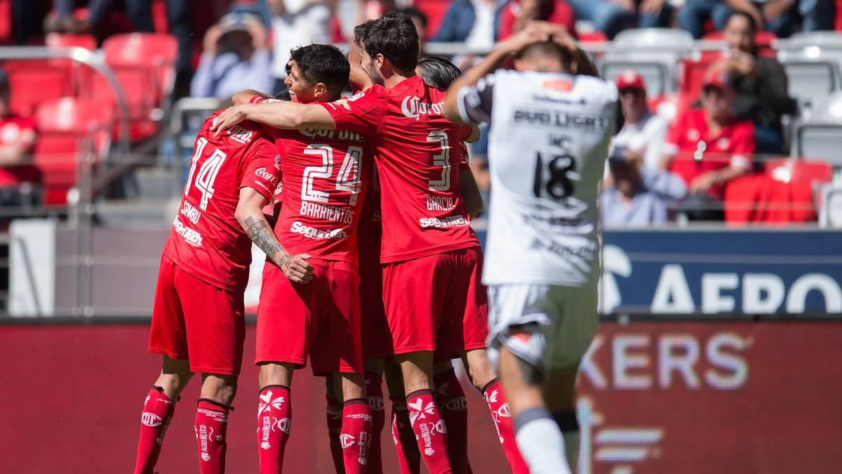Escala posiciones Toluca con su triunfo ante Tijuana