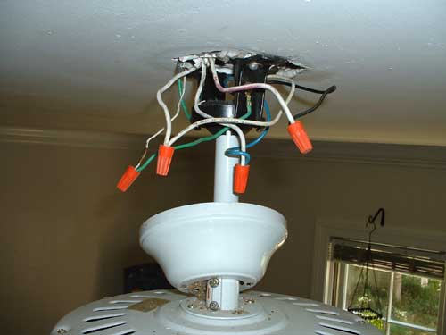 Wiring A House Ceiling Fan