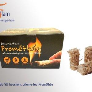 Boîte de 52 bouchons allume-feu Prométhée
