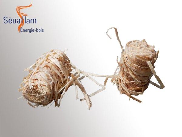 Bouchons allume-feu | Sèvaflam - Bois de chauffage sur palette