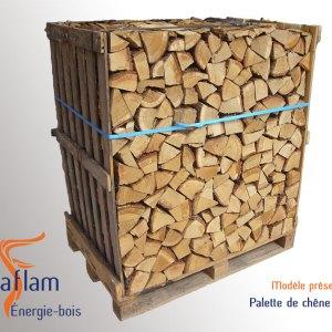 Bois bûche 1er choix Quartier d'Hiver (essences G1) – 25 cm
