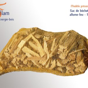 Sac / filet de bûchettes allume feu – 12 kg