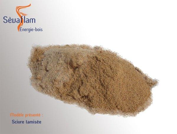 Sciure tamisée | Sèvaflam - Bois de chauffage sur palette