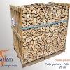Bois bûche poêle de masse sur palette petits quartiers 25 cm | Sevaflam - Bois de chauffage sur palette