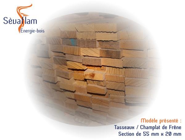 Tasseaux Frêne