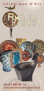 Flyer Amélie Robert céramiste
