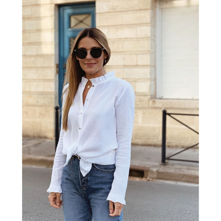 SEVEN AUGUST – CHEMISE BLANCHE