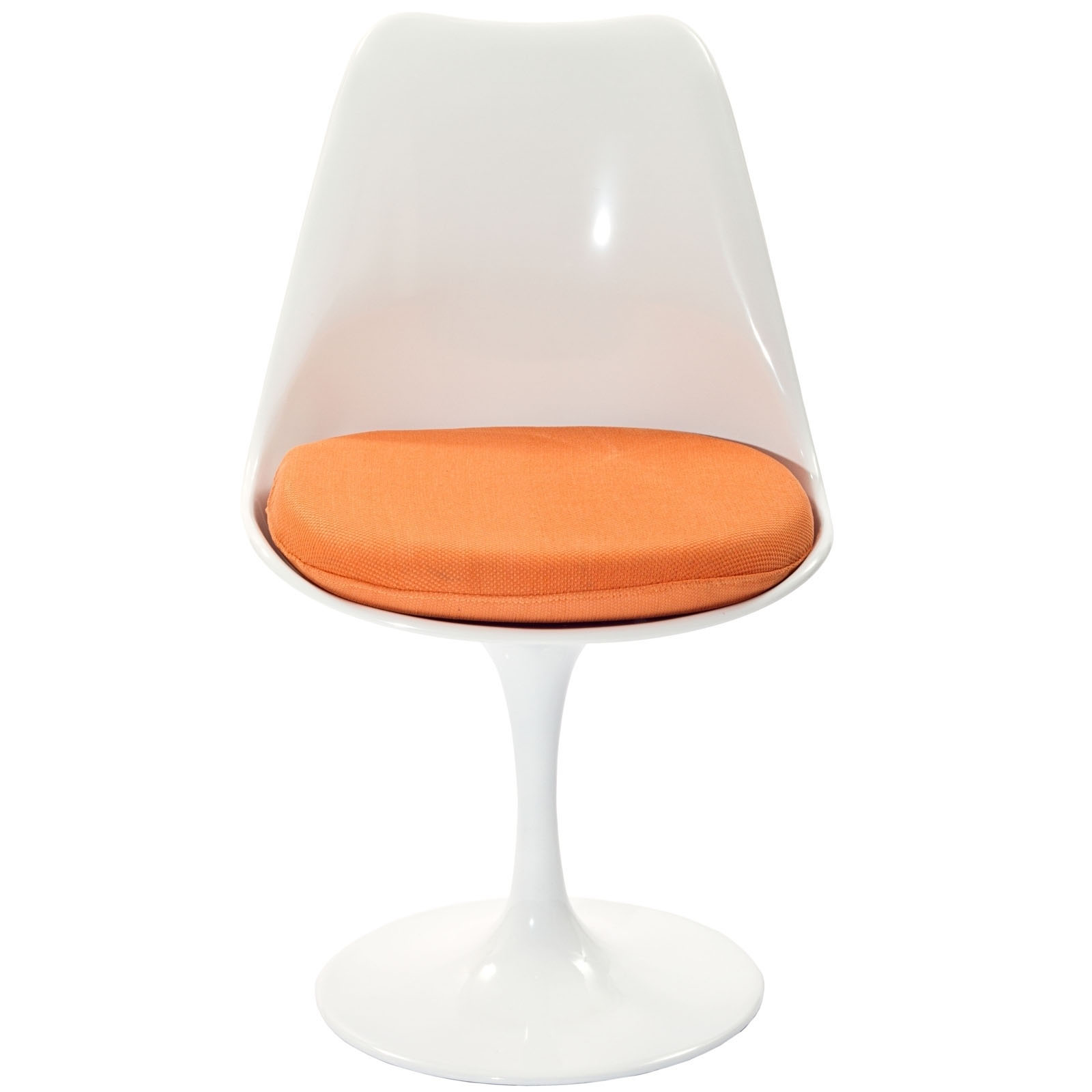 orange side chair outdoor bamboo chairs lippa dining fabric in by modway seven colonial