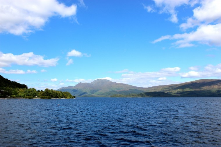 Beautiful Loch Lomond, Scotland