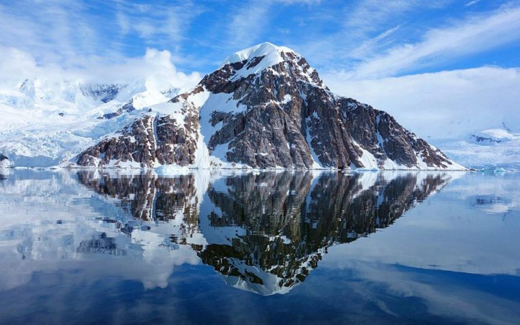 Beautiful reflections in Antarctica