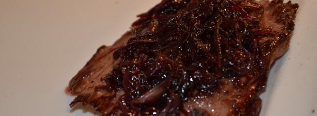 bavette echalotes vin rouge
