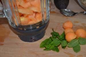 soupe de melon