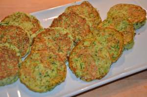 galette courgette