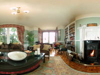 Guest Lounge at Sevenford House Bed & Breakfast