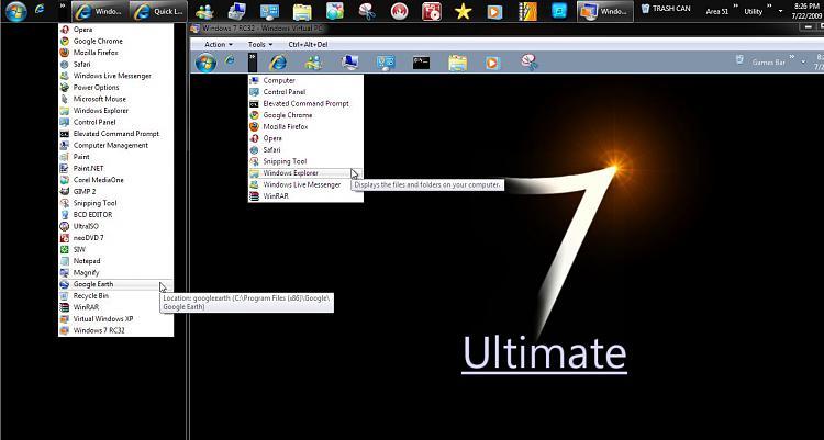 Windows 7 superbar? - Windows 7 Help Forums