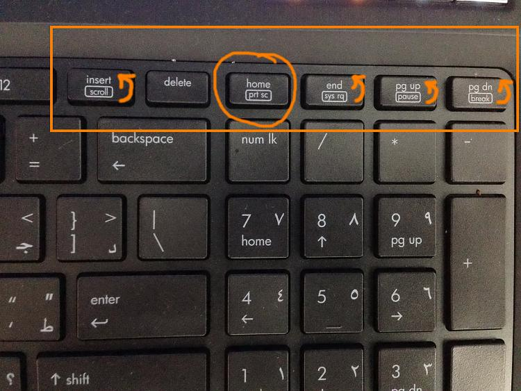 Turn Off Insert On Hp Laptop