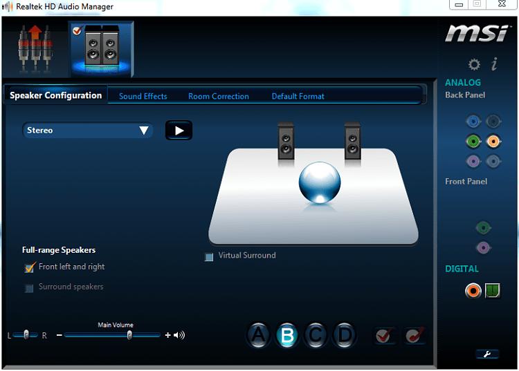 Realtek hd audio sound effect manager download