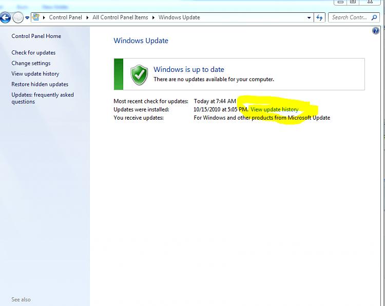 Windows 7 SP1 Install Fail 0x8007000e - Windows 7 Help Forums