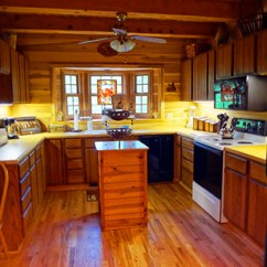 Kitchen To Go Master Forge Outdoor Deer Lodge With Cabin Amenities Box Cabins At Seven