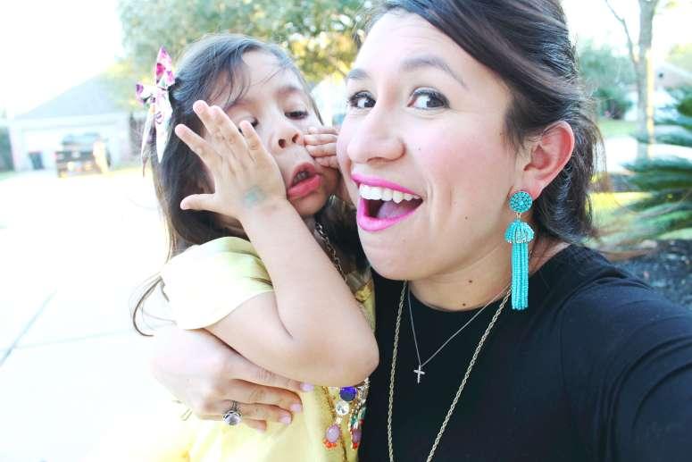 best turquoise tassel earrings from Amazon