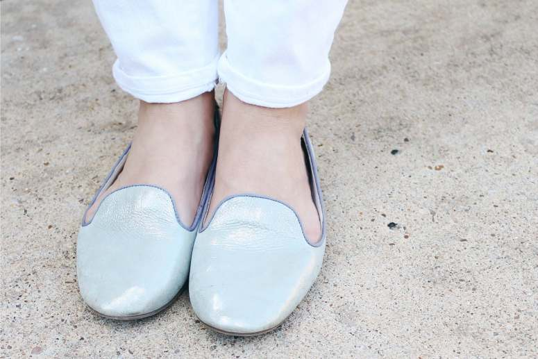 silver cigar loafers perfect for spring