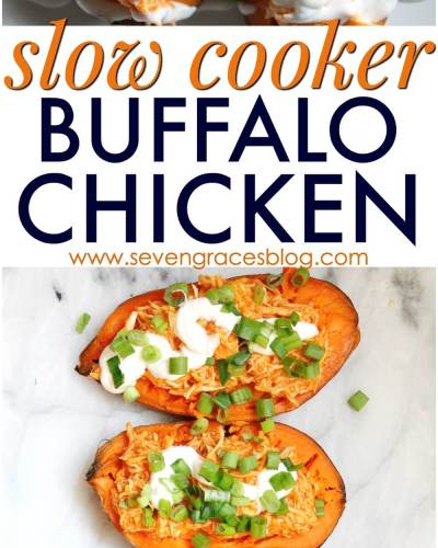 Currently Confessing | The One with Slow Cooker Buffalo Chicken
