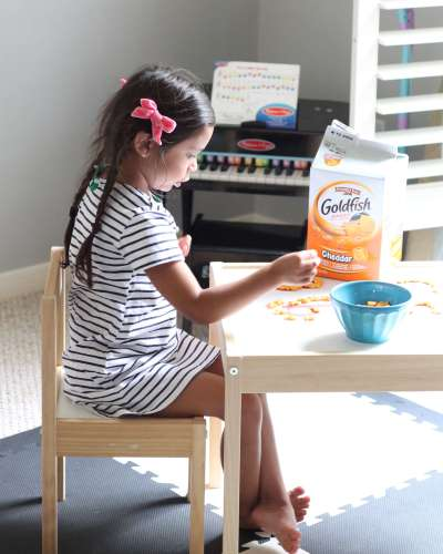 After-School Letter Recognition Activity Snack Hack